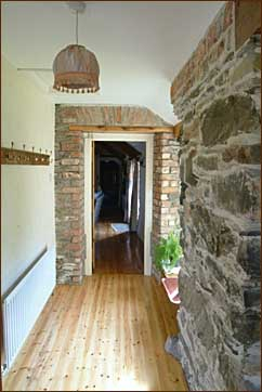The Corridor in Buttermilk Cottage