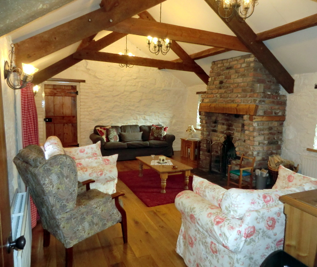 Buttermilk Cottage - self catering living Room