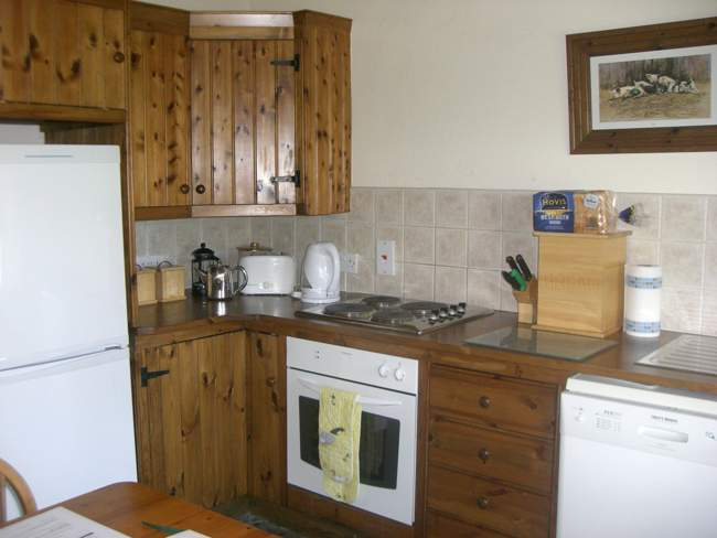 Orchard self catering kitchen